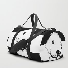 Bedlington Terrier Duffle Bag