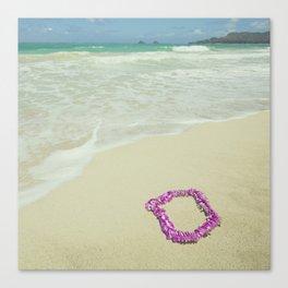 Aloha Sand Canvas Print