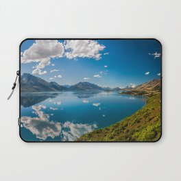 Breathtaking View from a famous scenic Lookout at Lake Wakatipu Laptop Sleeve