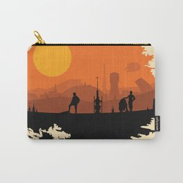 Death Star Alternative Movie Poster Carry-All Pouch