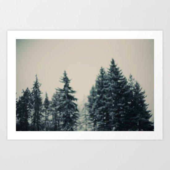 Winter Fancy Art Print