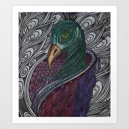 Gypsy Keys Art Print