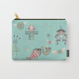 Happy little monsters Carry-All Pouch