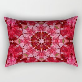 Cranberrybush Viburnum mandala Rectangular Pillow