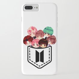 K-pop chibi band in your pocket  iPhone Case