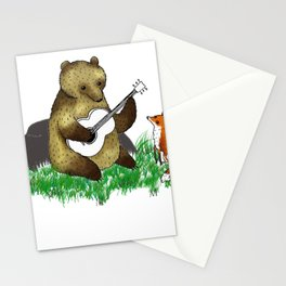 grees fox Stationery Cards