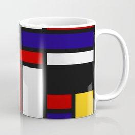 Mondrian De Stijl Art Movement Coffee Mug