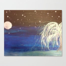 Dream Willow Canvas Print