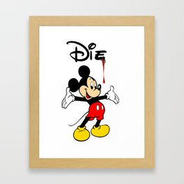 The Poorly Mouse Framed Art Print