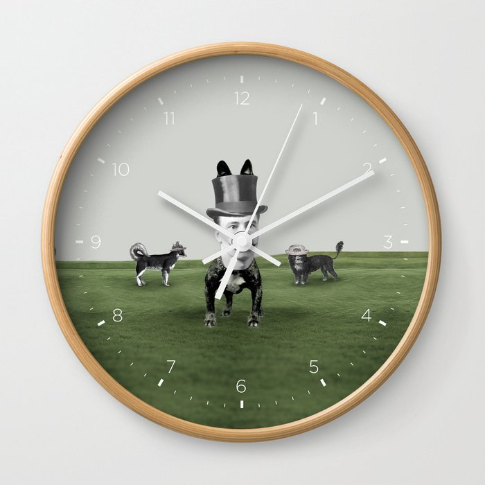 Top dog Wall Clock