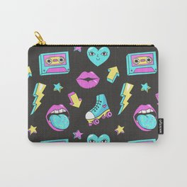 80s Glam Carry-All Pouch