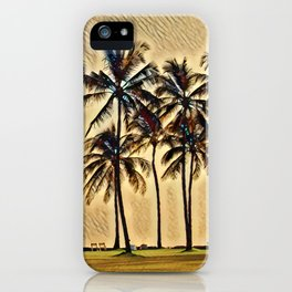 Hawaiian Vacation iPhone Case