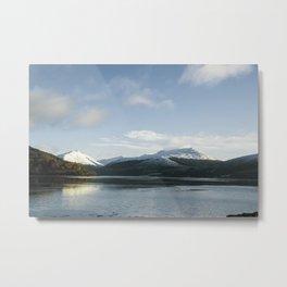Morning at Loch Awe Metal Print