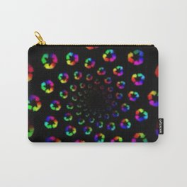 Psychedelic Spiral Carry-All Pouch