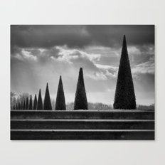 Cloudy Cone Perspective Canvas Print