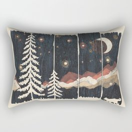 A Starry Night in the Mountains... Rectangular Pillow