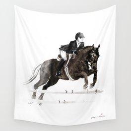 Horse (Jumper II) Wall Tapestry