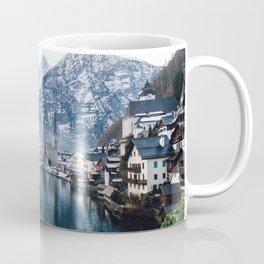 Snowy Mountain Town Coffee Mug