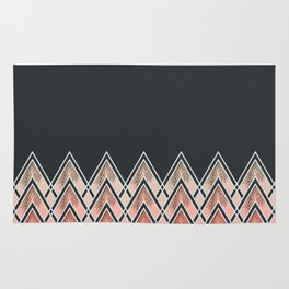 Pink Déco Mountains #society6 #buyart Rug