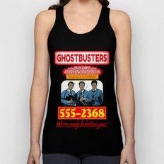 Ghostbusters Advertisement Unisex Tank Top