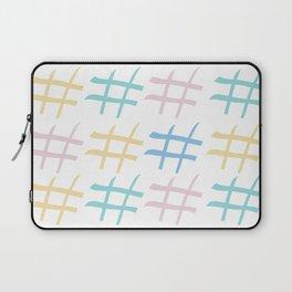 Hashtag pastel palette Laptop Sleeve