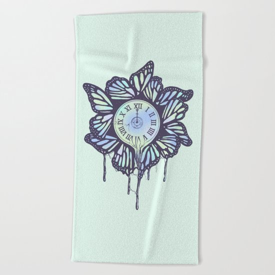 Never Let Go (A Study of Time) Beach Towel