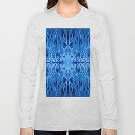 Frozen Squid by Chris Sparks Long Sleeve T-shirt