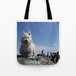 Carver by the sea Tote Bag