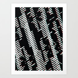 Something Dentils Then Another Art Print
