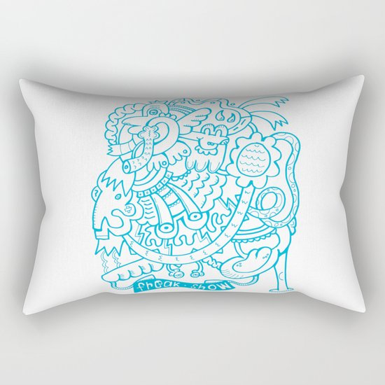Freak Show Rectangular Pillow