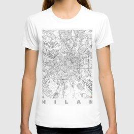 Milan Map Line T-shirt