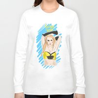 britney spears Long Sleeve T-shirts featuring Britney Spears by IssaBlack