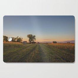 Curious Farmstead, North Dakota 2 Cutting Board