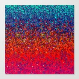 Glitter Dust Background G172 Canvas Print