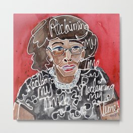 Maxine Waters Metal Print