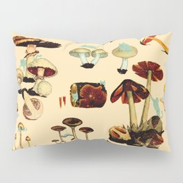 Cats and Spaceshrooms Pillow Sham
