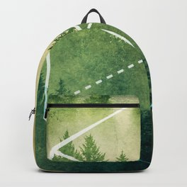 The Elements Geometric Nature Element of Earth Backpack