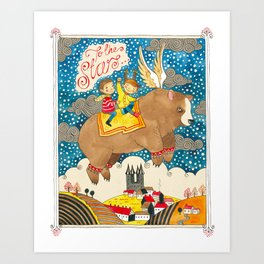 To The Stars! Art Print