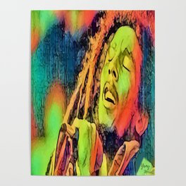 Artistic Marley Poster
