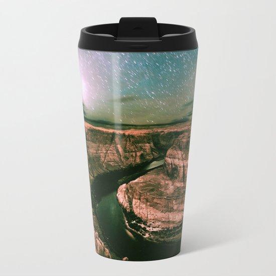 Desert Starry Night Metal Travel Mug