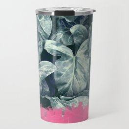 Pink Sorbet on Jungle Travel Mug