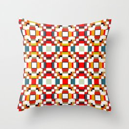Shen - Colorful Decorative Abstract Art Pattern Throw Pillow