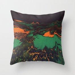 ŁÁQUESCÅPE Throw Pillow