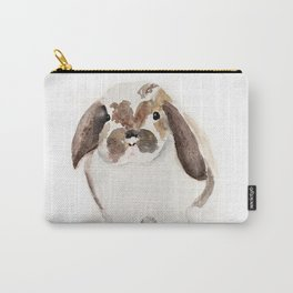 Bunny Watercolor (Flop Eared Bunny) Carry-All Pouch