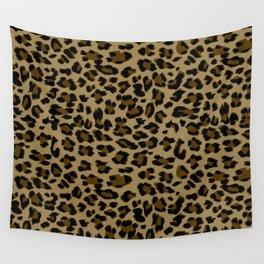 Leopard Print Pattern Wall Tapestry