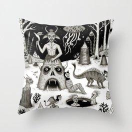 A Grim Hereafter Throw Pillow