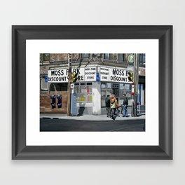 Queen & Sherbourne Framed Art Print