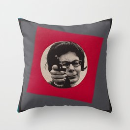 Bang! Throw Pillow
