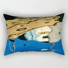 Water Painting Rectangular Pillow