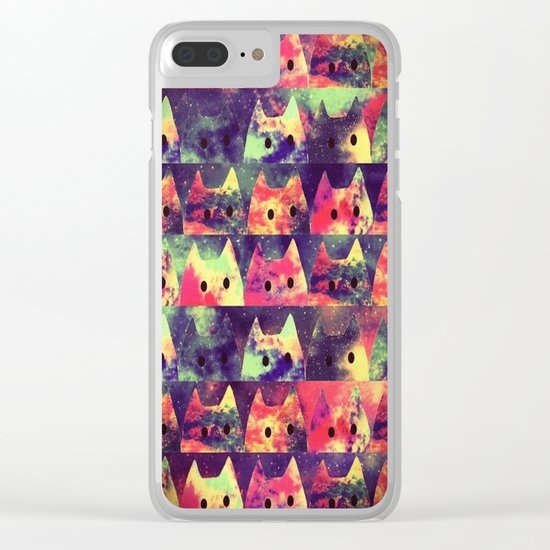 cats-323 Clear iPhone Case